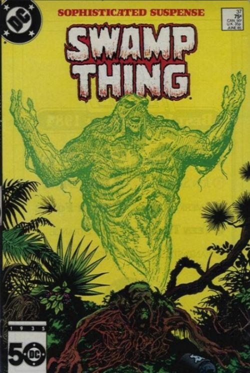 Saga of Swamp Thing #37, June 1985, written by Alan Moore, penciled by Rick Veitch