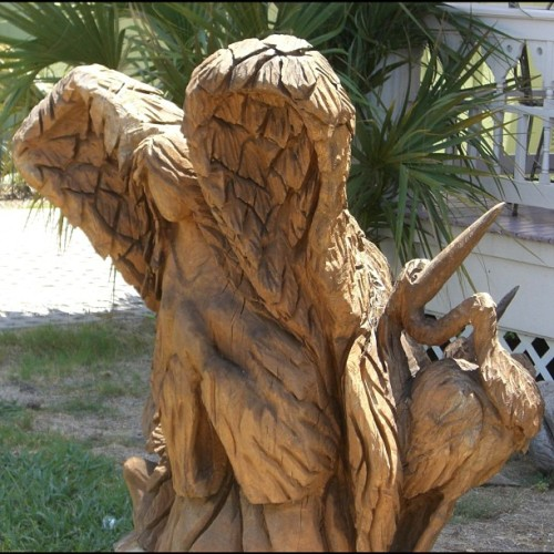 Galveston tree sculpture, 2011. (Taken with Instagram)