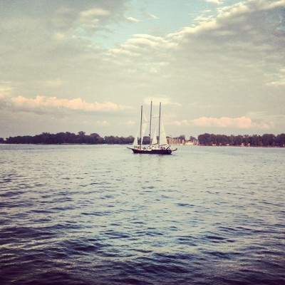 #summer #tall #ship #Toronto #Island  (Taken with Instagram)