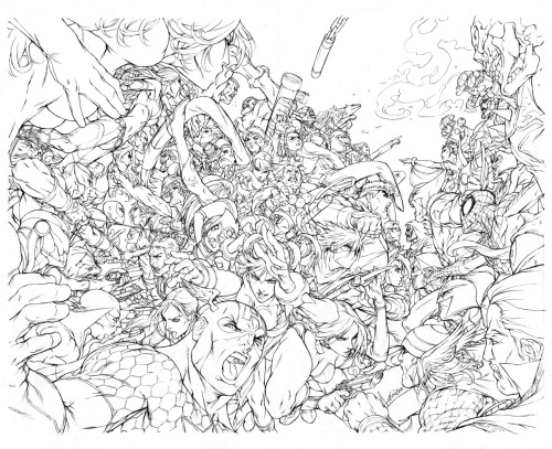 noobovich:  Marvel Vs. Capcom Complete Works - Pencils by *alvinlee