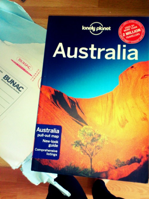 I forgot to tell you guys… I'm going to Australia!!!  Yup, 1st November 2012 im off downunder for 6/7 months with BUNAC's Work Australia! I CANNOT WAIT!! I've always wanted to go, and it's been on my list forever so I'm finally going to be able to tick it off…