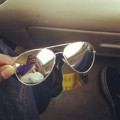 My new shades #2 (Taken with Instagram)