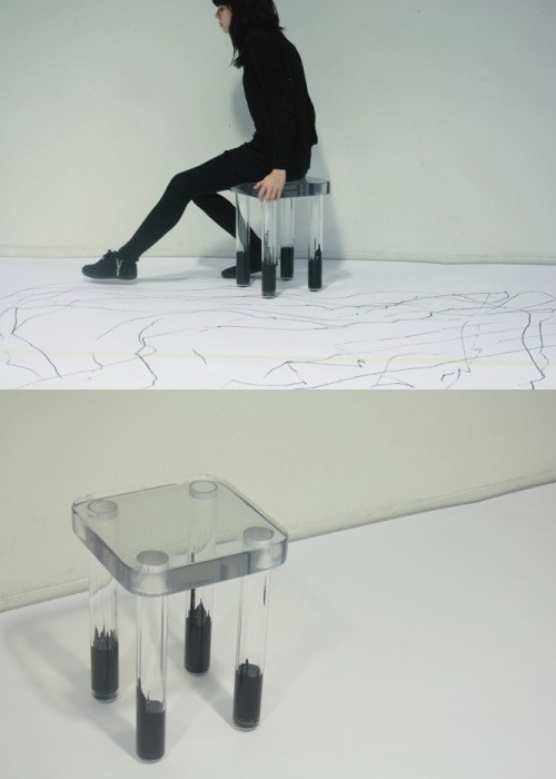 contagium:  Ball Point stool by Philippe Malouin