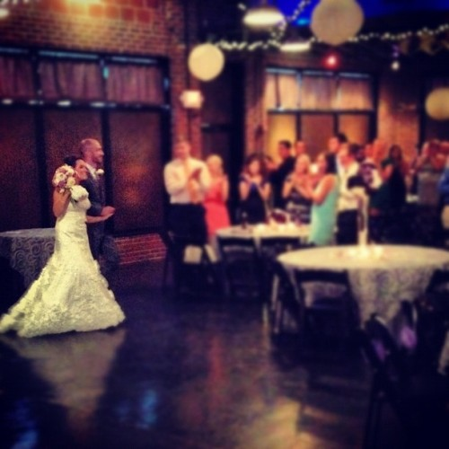 Mr. & Mrs. Kuck!  (Taken with Instagram)