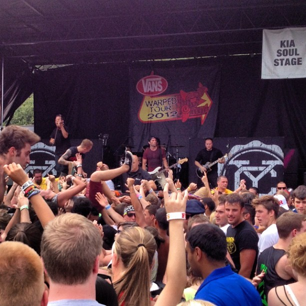 Yellowcard 7-13-12 (Taken with Instagram)