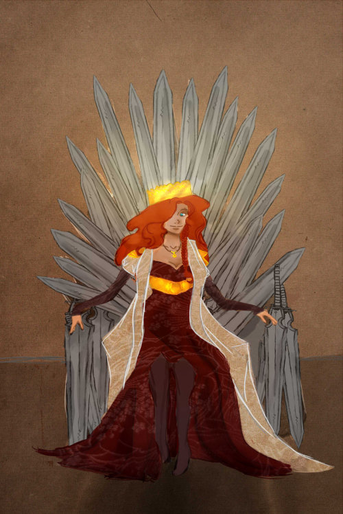 On the Iron Throne by =Imperialvalerie