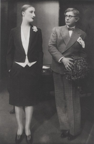 Margo Lion and Wilhelm Bendow, 1927