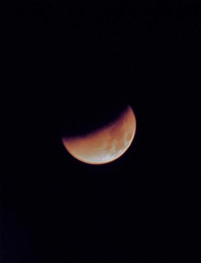 Lunar Eclipse, circa December 2011 Photography by Camilla Elizabet