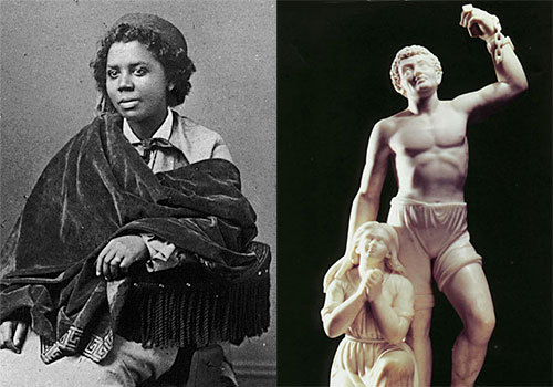 Edmonia Lewis    (African American, Haitian, Native American (Ojibwe)) [American]    Known as:  Famous Sculptor (First woman of African American and Native American descent to gain fame and recognition worldwide as a sculptor)    More Information: EdmoniaLewis.com, Smithsonian Magazine: The Object at Hand, Women in History: Edmonia Lewis, MyHero: Edmonia Lewis, Edmonia Lewis' Wikipedia page    Please feel free to suggest someone as a future Daily Multiracial!  Follow us: Twitter - Google+     DailyMulti Archives: By Date - By Name