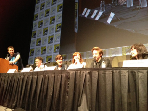 becks28nz:  Doctor Who Panel - SDCC 2012 (source)
