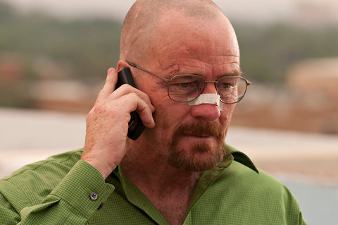 "Predictions for Season 5 of Breaking Bad: - Mike the Cleaner returns from Mexico, figures working at Walt's car wash will allow him to still go by the name ""Mike the Cleaner."" - Skyler becomes a spokesperson for Pepsi Max, claims it tastes ""exactly the same"" as regular Pepsi. - Walt starts to get paranoid when he realizes several characters on AMC shows have the exact same green Pontiac Aztec SUV. - Jesse discovers the Meredith Brooks song ""Bitch"" and starts listening to it on continuous repeat (followed by a long obsession with Chris Brown's ""Yo""). - Nobody bothers to point out that the Lily of the Valley revelation was an almost obnoxiously convoluted end to season 4. - Everything ends up fine and all the characters live happily ever after."