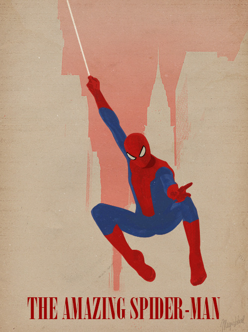 Minimalist Poster:  The Amazing Spider-Man