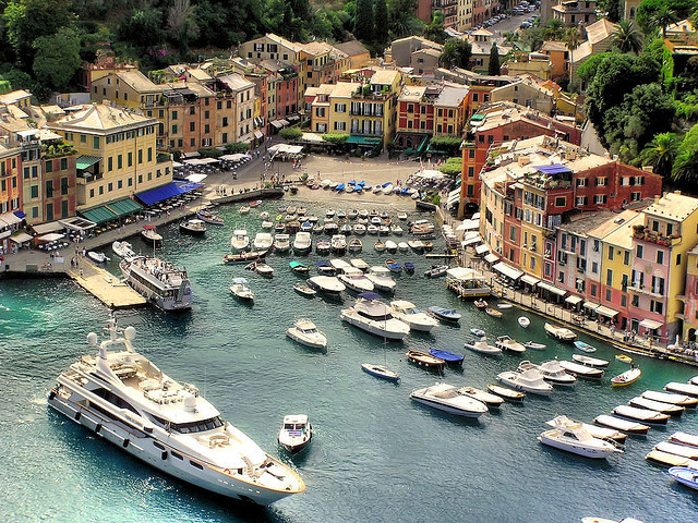 Portofino thru my lens by B℮n on Flickr.Genoa, Liguria, IT
