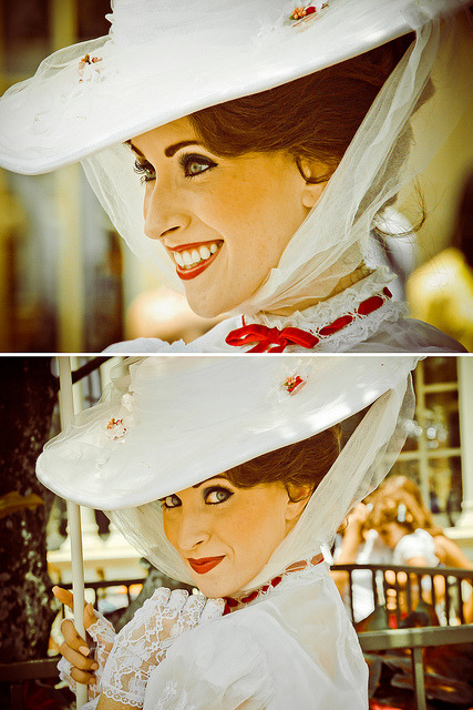 Mary Poppins by abelle2 on Flickr.This woman is gorgeous