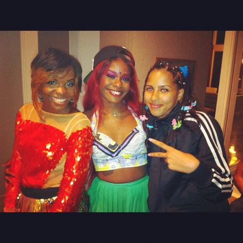 Me, @Ryerye, & @Gitaspeaxdaily !!!!!! We were sippin #YUNGRAPUNXEL's (Taken with Instagram)