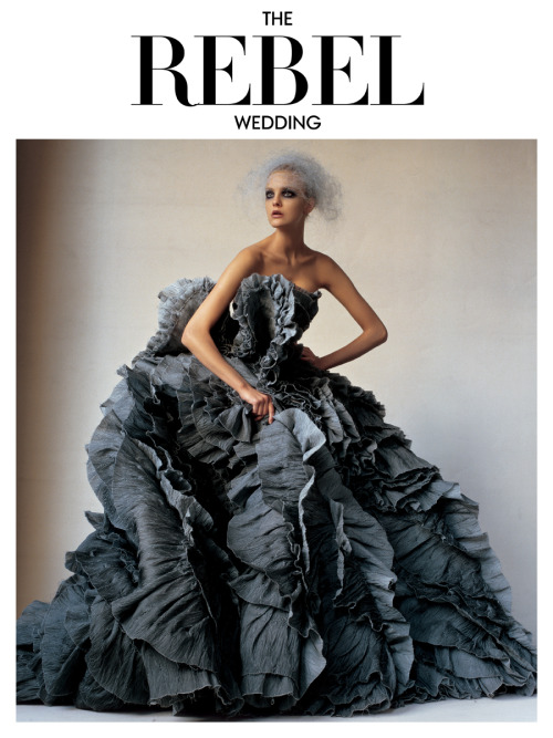 style4style:  Photographed by Irving Penn, Vogue, March 2007