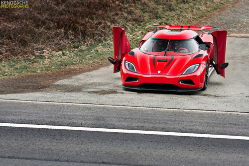 The Boss! by Keno Zache on Flickr. Via Flickr:Koenigsegg Agera R Camera: Canon EOS 400d Lens: Canon EF 24-70 2,8 L USM Exposure: 1/50s Aperture: f/5 Focal Length:70mm ISO Speed: 100GranTurismo Event Nürburgring