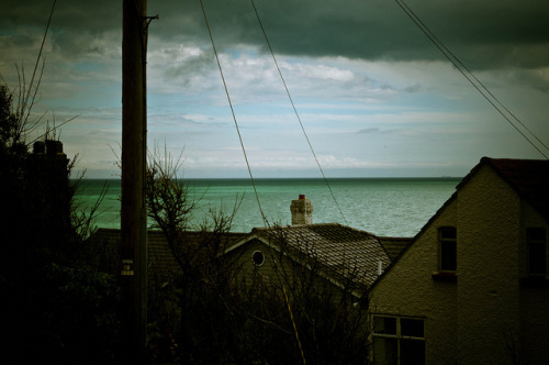 Dark seascape in Kent on Flickr.Heavily processed shot of the ocean in Sandgate, Kent.