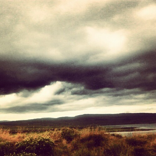 Rain clouds at #strawberryreservoir  (Taken with Instagram)