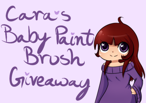 goddamnitkori:  Cara's Baby Paint Brush Giveaway!  Hey, I'm back with another Neopets giveaway! This time I am giving out a Baby Paint Brush.  This giveaway will end Tuesday, July 17th 2012 at 11am EST. Rules: Two reblogs and one like. Giveaway blogs are ok, as long as you ONLY reblog it there. You DO NOT need to be following me! Things to Know: Please leave your ask box open so I can contact you!  You must be ok with telling me your Neopets' account name. I can't send you the brush if I don't have a place to send it.  You do not need to use the brush. You are more than welcome to sell it if that's what you want to do.  Have fun!