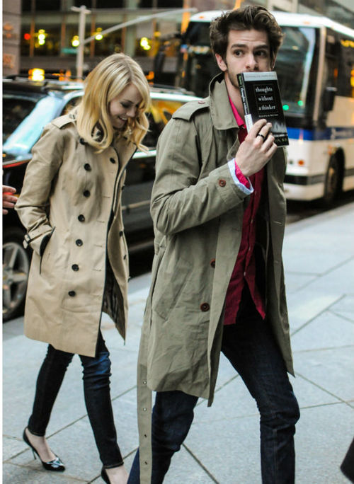 l-ouboutins:  Emma Stone and Andrew Garfield