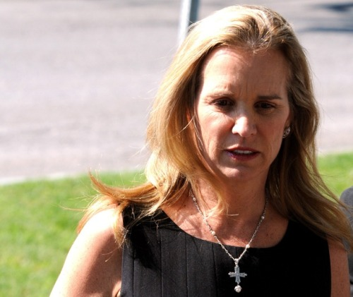 Kerry Kennedy, Andrew Cuomo's ex-wife, lays low after DUI arrest Was sleep medication the cause? Kerry Kennedy is avoiding the spotlight in the wake of a DUI late last week. Kerry, the daughter of Robert F. Kennedy who was once married to current New York governor Andrew Cuomo, was arrested early Friday in Westchester County, NY after her car smashed into a tractor-trailer. Early reports suggested Ambien was the cause — her cousin, former Rep. Patrick Kennedy, had a similar Ambien-induced incident in 2006. Her blood test results will take a week to come back, however. Kerry's family had been in the news recently; she allegedly had an emotional reaction to the illegal re-burial of her sister-in-law, Mary Richardson Kennedy, which her family only found out after the burial took place. source Follow ShortFormBlog: Tumblr, Twitter, Facebook
