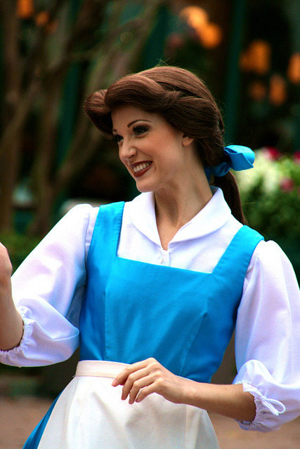 -disneyparks:  Belle by abelle2 on Flickr.