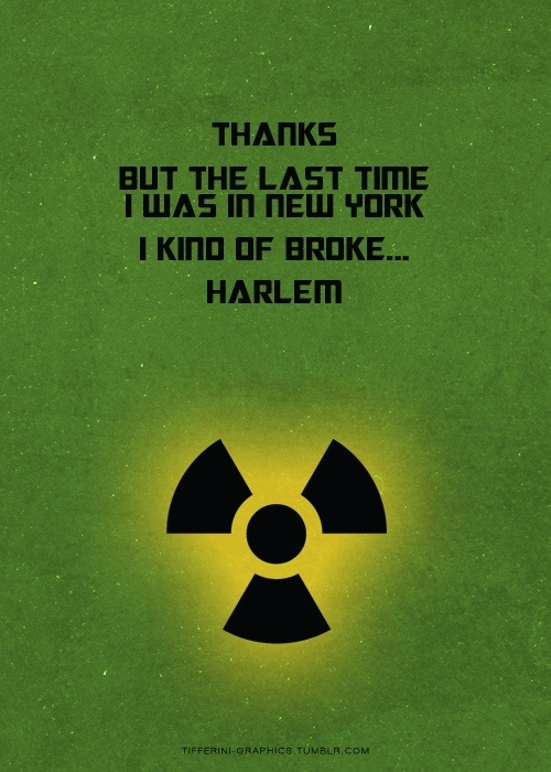 admiralgoose95:  Bruce Banner is the bomb. Literally, he broke up Harlem.