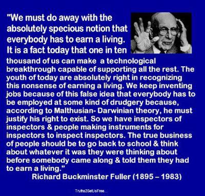 nevver:  Buckminster Fuller