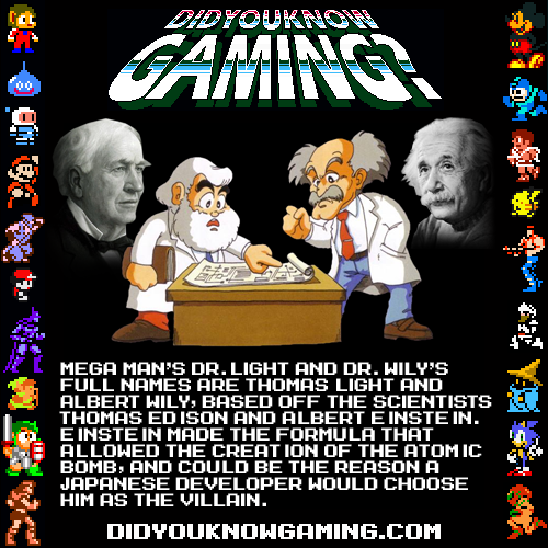 didyouknowgaming:  Mega Man.  Submitted by MedriFogmatio,
