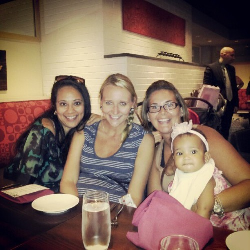 me #Erica #Diane #Sophia at E&E Grille (Taken with Instagram)