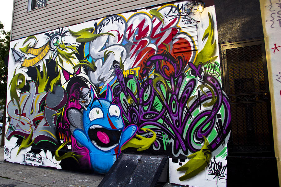 doorsandtunnels:  New Work by See One / Low Brow Artique / Bushwick (photo © by Jason Lustig)  (via imgTumble)