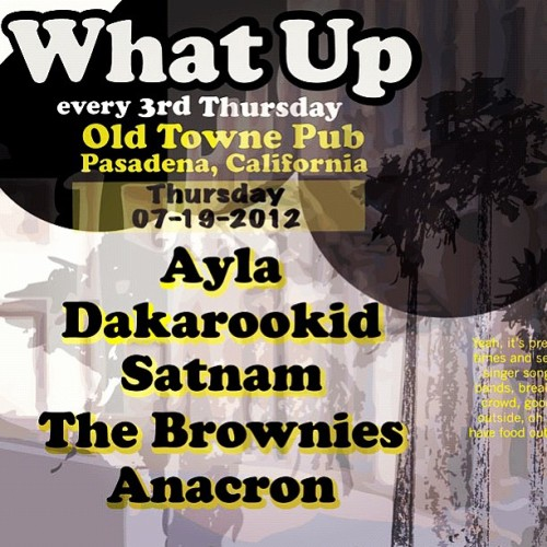 This Thursday night, I'll be performing in Pasadena. Hope to see some of you there! (Taken with Instagram at Old Towne Pub)