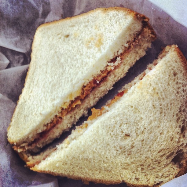 Airport PBJ. Surprisingly good and cheap.   (Taken with Instagram)