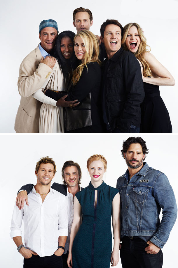 suicideblonde:  True Blood cast photographed by Michael Muller for Entertainment Weekly at San Diego Comic-Con, July 14th