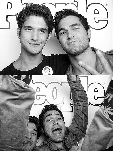 COMIC CON 2012:  TYLER POSEY + TYLER HOECHLIN  I love these guys and I love to watch them on MTV's hit show TEEN WOLF! So Far Season 2 has been awesome! xo @RozOonTheGo