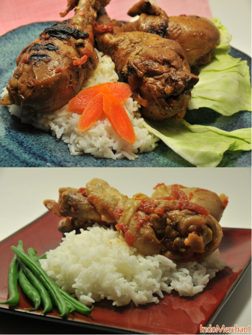 Ayam Balado, set up nice and pretty for our homemade light box. http://www.indomerchant.com/noname.html