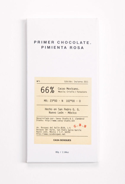 graphicporn:  SAVVY Studio - Casa Bosques Chocolates