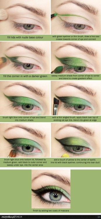 How to/Bright green lids
