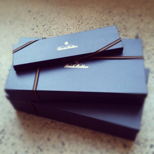#brooksbrothers #box (Taken with Instagram)