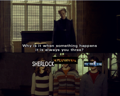 moose-feels:  a-cumberbatch-of-cookies:    OH MY GOD AND EVEN THE CHARACTERS ARE ACCURATE BECAUSE HERMIONE/SHERLOCK IS BRILLIANT AND SMART AND RON IS THIS BIG CRAZY DEFENSIVE BALL OF FAMILY DRAMA AND HARRY IS THE LAST OF HIS KIND