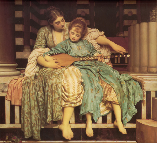 Frederick Leighton - Music Lesson