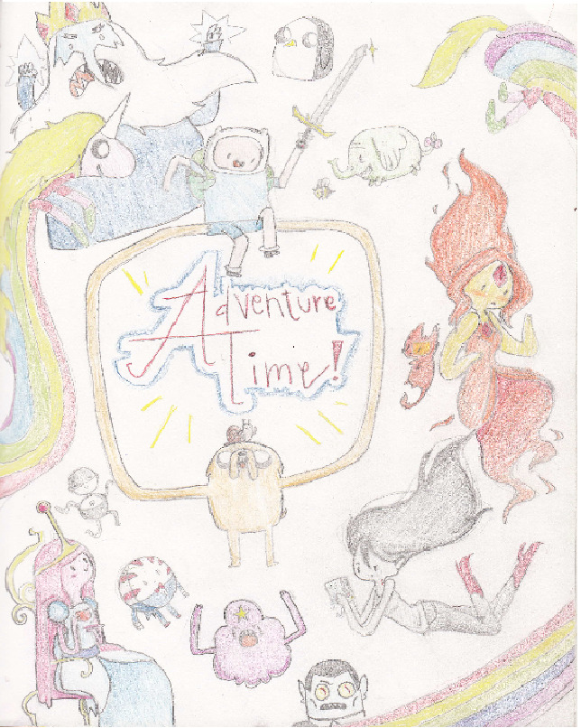 musical-cat3:  So this is just a little collage of adventure time characters that i drew. hope you guyslike it;)