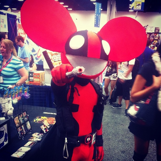 Realest Deadmau5 out there (seen @ Comic Con in San Diego) (Taken with Instagram)