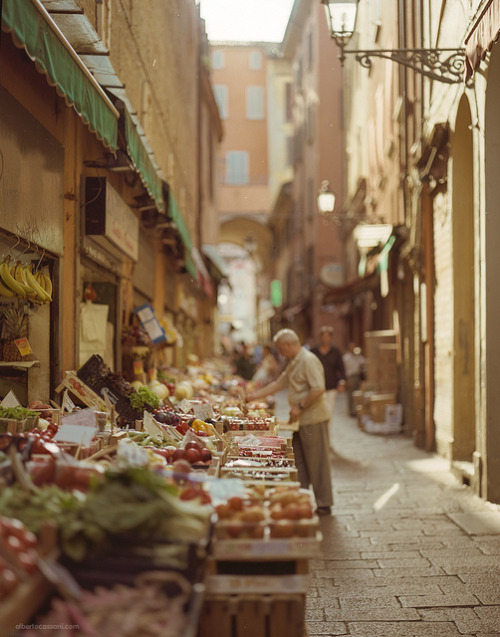 lovelyydarkanddeep:  A walk in Bologna. by BeboFlickr