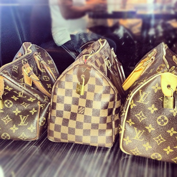 The bags we bring before we hike… vintagexmodernxlouisvuitton 👜 (Taken with Instagram)