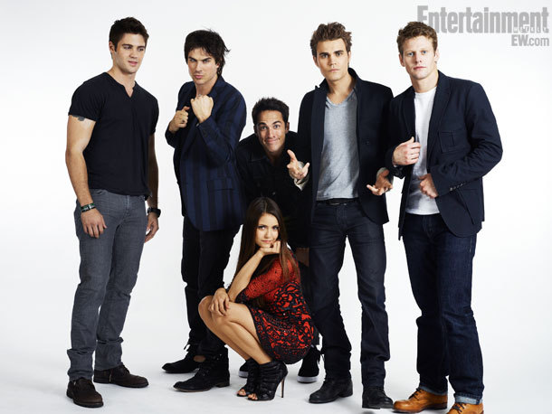 The Vampire Diaries Comic-Con Cast Portrait by Michael Muller, July 14th 2012