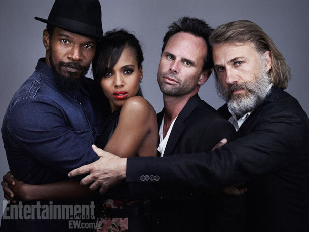 Django Unchained Comic-Con Cast Portrait by Michael Muller, July 14th 2012