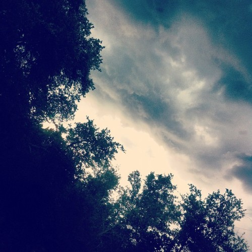 #rain very frightening  (Taken with Instagram)