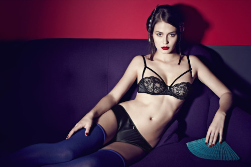 peachylingerie:  Les Jupons de Tess Fall/Winter 2012 preview via The Petite Coquette.